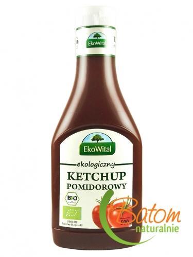 Ketchup pomidorowy 500ml*EKOWITAL*BIO
