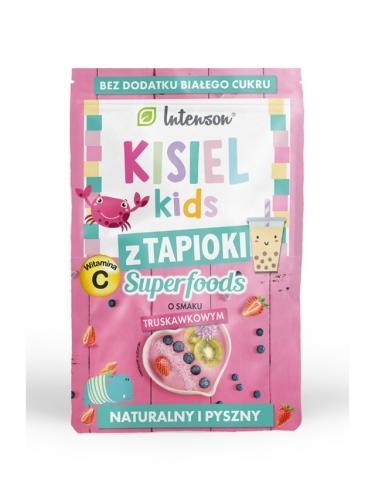 Kisiel **Kids** truskawkowy z tapioki 30g*INTENSON SUPERFOODS*
