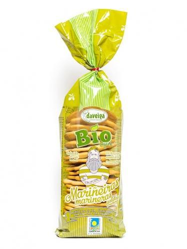 Krakersy pszenne z oliwą 180g*DAVEIGA*BIO