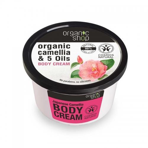 Krem / balsam do ciała **Organic Camellia & 5 Oils** 250ml*ORGANIC SHOP*ECO