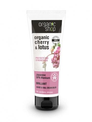 Krem do rąk ochronny **Cherry & Lotus** 75ml*ORGANIC SHOP*BIO