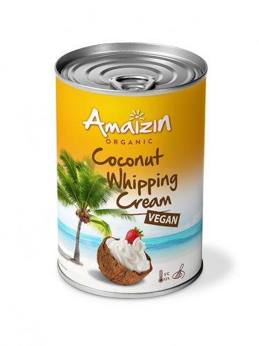 Krem kokosowy w puszce do ubijania 85% 400ml AMAIZIN BIO