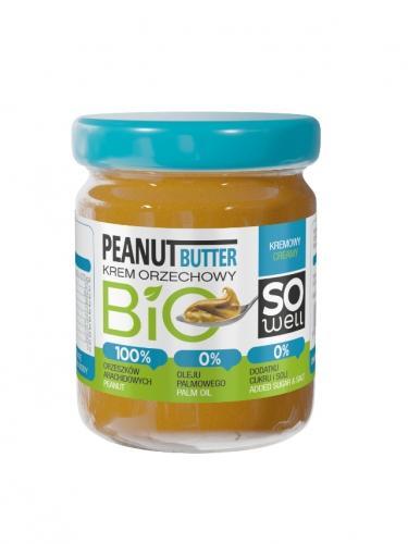 Krem orzechowy arachidowy 180g*SOWELL*BIO