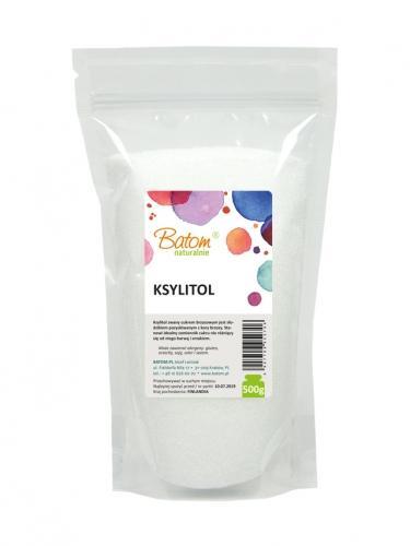Ksylitol 500g*BATOM* - opakowanie zbiorcze po 6 szt.