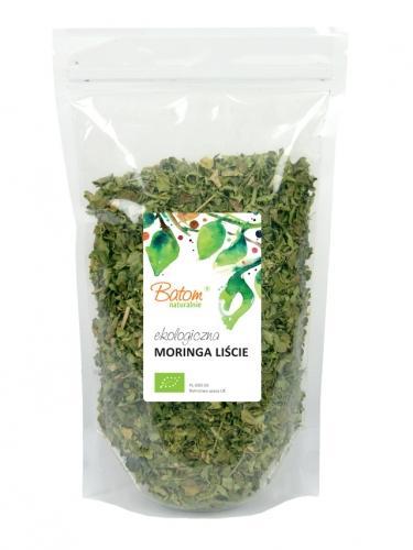 Liście Moringa / moringa olejodajna / drzewo chrzanowe 100g*BATOM*BIO
