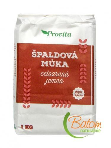 Mąka orkiszowa pełnoziarnista drobno mielona 1kg*PROVITA* - opakowanie zbiorcze po 10 szt.