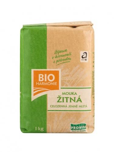 Mąka żytnia TYP 1850 drobno mielona 1kg*BIO HARMONIE*BIO