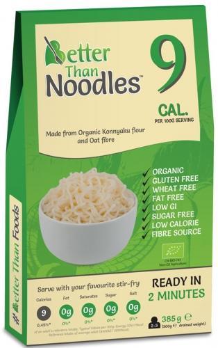 Makaron konjac w kształcie noodles bezglutenowy 385g*BETTER THAN FOODS*BIO
