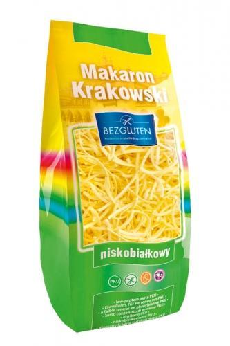 Makaron **Krakowski** nitki grube PKU 250g*BEZGLUTEN*