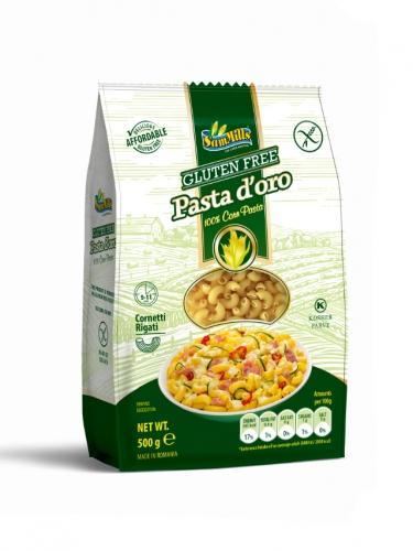 Makaron kukurydziany bezglutenowy kolanka 500g*SAM MILLS* - opakowanie zbiorcze po 12 szt.