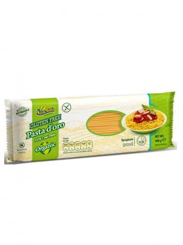 Makaron kukurydziany bezglutenowy spaghetti 400g*SAMMILLS*BIO  - najlepiej spożyć przed: 19.07.2021