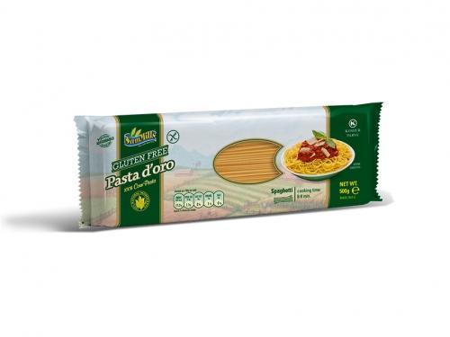 Makaron kukurydziany bezglutenowy spaghetti 500g*SAM MILLS* - opakowanie zbiorcze po 12 szt.