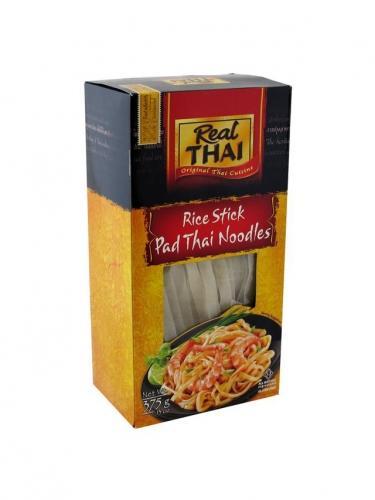 Makaron ryżowy wstążka szeroka 375g*REAL THAI*
