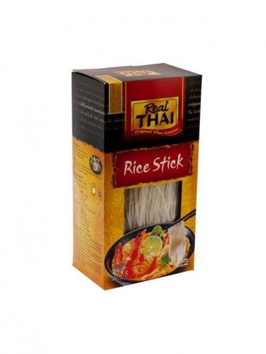 Makaron ryżowy nitki 375g*REAL THAI*