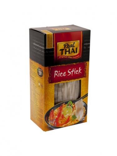 Makaron ryżowy wstążka wąska 375g*REAL THAI*