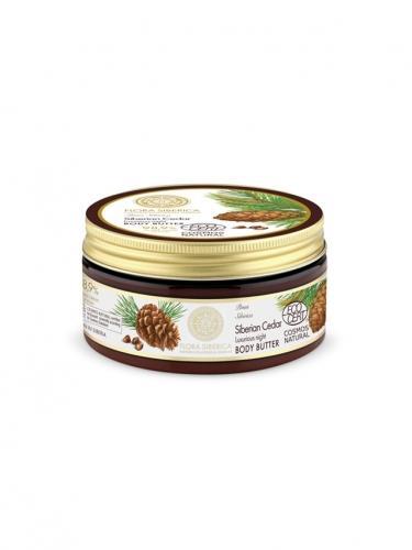 Masło / balsam **Siberian Cedar** odżywcze do ciała 300ml*FLORA SIBERICA*BIO