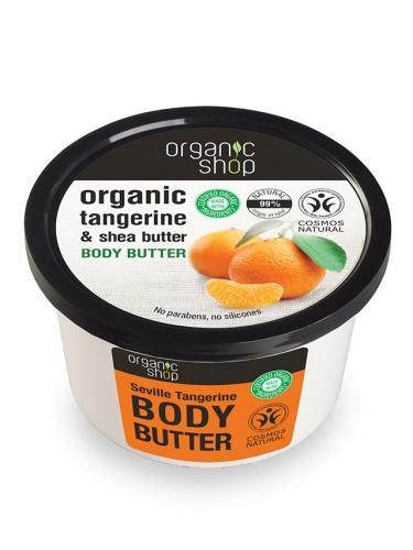 Masło / balsam **Tangerine & Shea butter** do ciała 250ml*ORGANIC SHOP*BIO