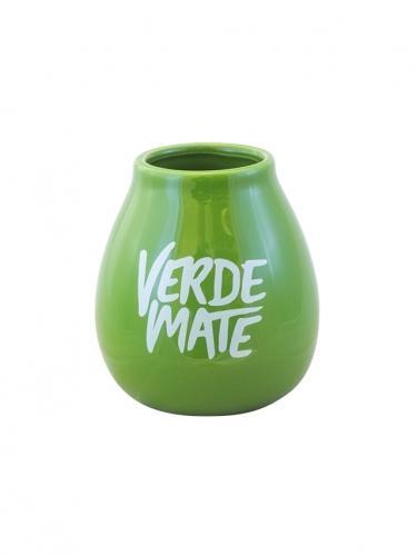 Matero ceramiczne **Verde Mate** 350ml zielone