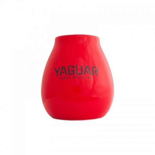 Matero ceramiczne **Yaguar** 350ml czerwone