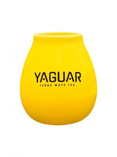Matero ceramiczne **Yaguar** 350ml żółte