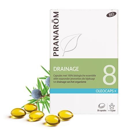 Mieszanka olejków eterycznych **Oleocaps+ 8 / Oczyszczanie** kapsułki 30szt*PRANARÔM*BIO