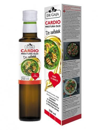 Mikstura olejów  **Cardio** dba o serce 250ml*DR GAJA*