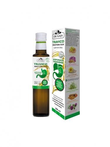 Mikstura olejów **Travico** wspomaga trawienie 250ml*DR GAJA*