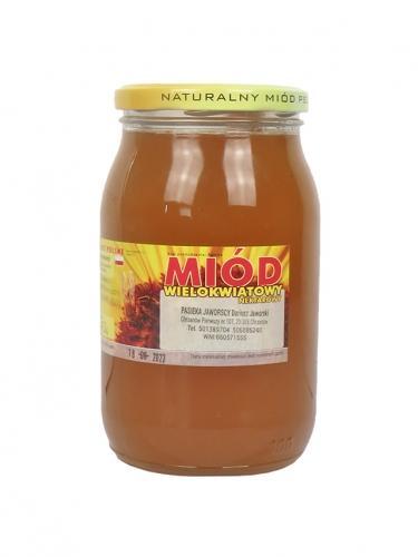 Miód wielokwiatowy nektarowy 1,25kg*PASIEKA JAWORSCY*