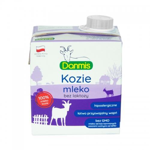 Mleko kozie bez laktozy UHT 500ml *DANMIS*