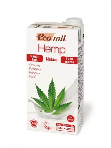 Mleko z konopi bez cukru 1l*ECOMIL*BIO