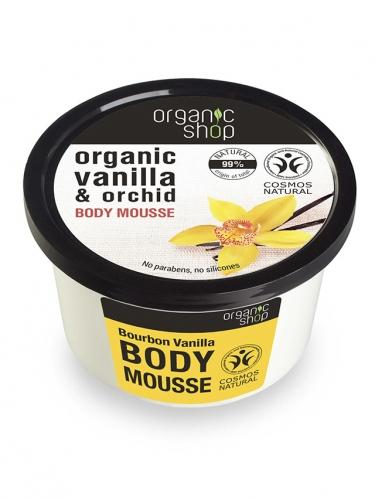 Mus / balsam do ciała **Vanilla & Orchid** 250ml*ORGANIC SHOP*