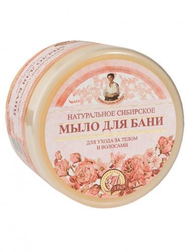 Mydło syberyjskie **Kwiatowe** do ciała i włosów 500ml*AGAFIA*