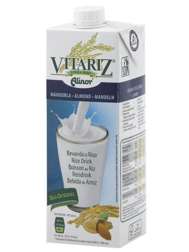 Napój ryżowy migdałowy 1l*VITARIZ / ALINOR*BIO