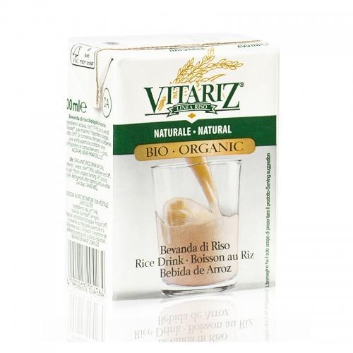 Napój ryżowy naturalny bezglutenowy 200ml*VITARIZ / ALINOR*BIO