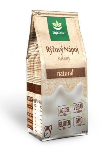 Napój ryżowy naturalny bezglutenowy w proszku 350g*TOPNATUR*