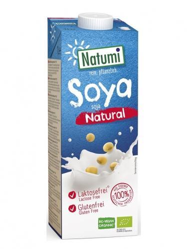 Napój sojowy bez dodatku cukru 1l*NATUMI*BIO - opakowanie zbiorcze po 12 szt.