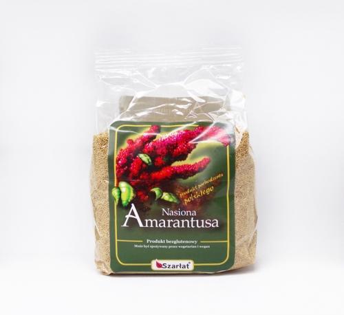 Nasiona bezglutenowe amarantusa 500g*SZARŁAT*