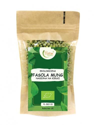 Nasiona **Fasola Mung** na kiełki 80g*BATOM*BIO - opakowanie zbiorcze po 10 szt.