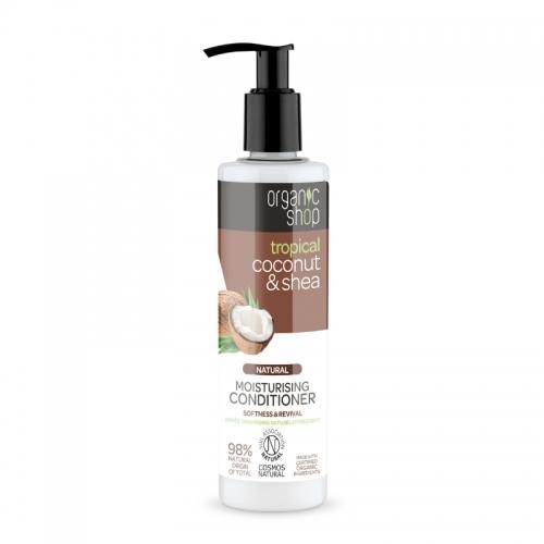 Odżywka do włosów **Coconut & Shea** nawilżająca 280ml*ORGANIC SHOP*ECO
