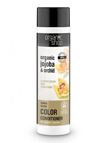 Odżywka **Glowing color** do włosów 280ml*ORGANIC SHOP*ECO  - zużyć do 31.12.2023