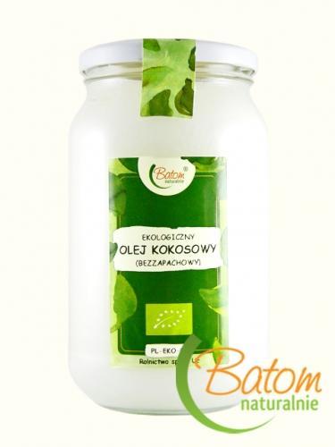 Olej kokosowy bezzapachowy 900ml*BATOM*BIO