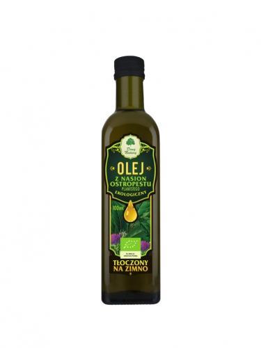 Olej z nasion ostropestu 100ml*DARY NATURY*BIO