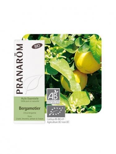Olejek eteryczny bergamotkowy **Pomarańcza bergamotka / Pomarańcza bergamota / Citrus bergamia** 10ml*PRANARÔM*BIO