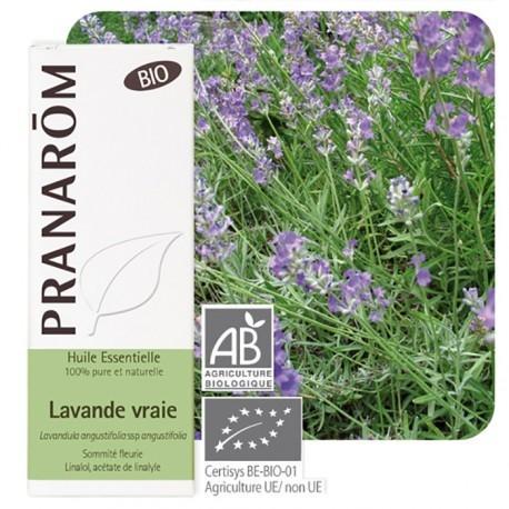 Olejek eteryczny lawendowy **Lawenda wąskolistna / Lavandula angustifolia ssp angustifolia** 10ml*PRANARÔM*BIO