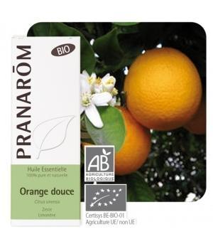 Olejek eteryczny pomarańczowy **Skórka pomarańczowa / Pomarańcza słodka / Citrus sinensis** 10ml*PRANARÔM*BIO