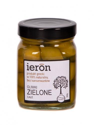Oliwki zielone całe 360g*IERON*