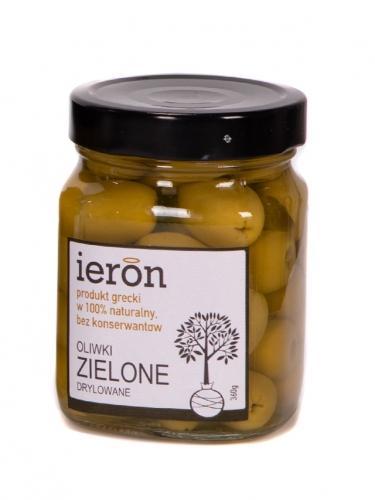 Oliwki zielone drylowane 360g*IERON*