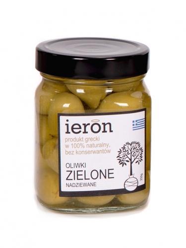 Oliwki zielone / czosnek 350g*IERON*