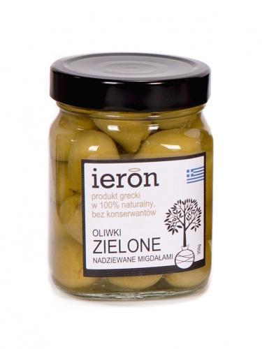 Oliwki zielone / migdały 350g*IERON*