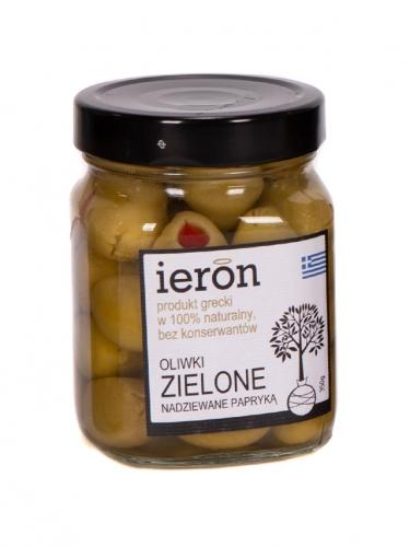 Oliwki zielone / papryka 350g*IERON*